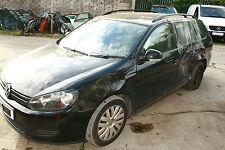 VW GOLF MK6 1.6 TDI CAY 5SPEED GEARBOX LHW BLACK L041 ESTATE WHEEL BOLT BREAKING