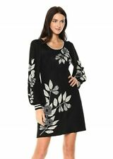 Max Studio 164584 Women's Printed Balloon Sleeve Sweater Dress Sz. Medium