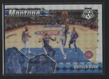 2019-20 Panini Mosaic Basketball #13 Derrick Rose Montage White Mosaic /25