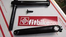 FIT BMX bike Flight cranks BLACK BMX BIKE CRANK 19mm 8spline 175mm RHD GT SE NEW