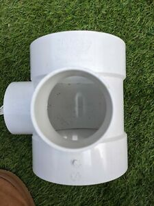 15 qty X 110mm Polypipe Short Boss Pipe 3 Way White SE60W