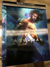 Aquaman Lenticular 4K & Bluray Box Set Used Like New