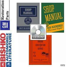 1937 1938 Oldsmobile Shop Service Repair Manual CD Engine Drivetrain Electrical