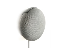Wall Mount for Google Home Mini (Made in USA) (3D-printed)