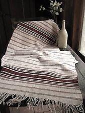 Folk Art Textile vintage / Antique European Table runner textile homespun