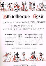 Ma première Valse VIOLON ou MANDOLINE BIBLIOTHEQUE ROSE par Ernest VAN DE VELDE