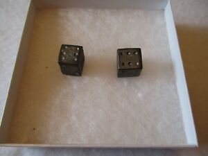 CIVIL WAR MUSKET BALL DICE