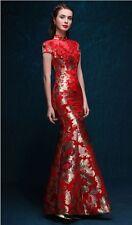 Chinese wedding dress QiPao Kwa cheongsam 37b Sizes available, custom make avail