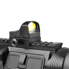 Mini Compact Holographic Reflex Micro Red Dot Sight Scope Brightness Adjustable