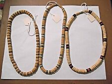 LOT OF 3 NEW BEAD TYPE NECKLACE CHOKERS 16 INCHES