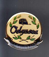 RARE PINS PIN'S .. TOURISME CAMPING CAR CARAVANE VAN ODYSSEA CARAVELAIR ~B1