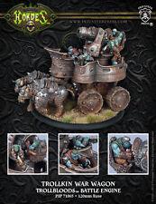 Warmachine BNIB - Trollblood War Wagon Battle Engine  & RESIN