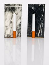 Marble Color Dugout With Free One Hitter Spring Loaded and Cleaning Stick White