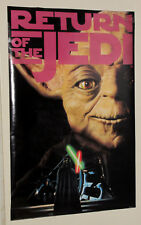 1995 Star Wars Return of the Jedi 36 x 24 poster:Yoda/Darth Vader/Luke Skywalker