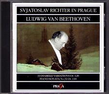 Sviatoslav RICHTER: BEETHOVEN Diabelli Variations Sonata 31 Le Chant du Monde CD