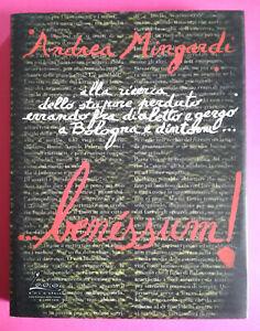 Libro Book ANDREA MINGARDI ...Benessum!Press Club Carisbo 1999 Bologna no lp cd