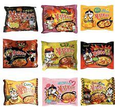 Samyang Hot Chicken Ramen Variety Curry Jjajang Cheese Mala Carbo Corn 2X Spicy