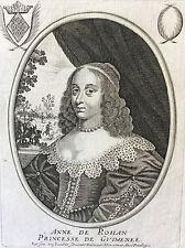 Anne de Rohan Princesse de Guimenée (1606-1685) par Balthazar MONTCORNET XVII