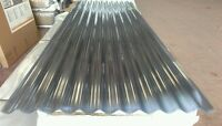 """Palruf PVC 3"""" Profile Corrugated Sheets Clear. Various Thickness's and Lengths"""