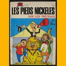 LES PIEDS NICKELÉS SUR LES TRÉTEAUX Pellos 1983