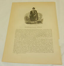 1880 SHAKESPEARE Antique Print/HAMLET by SIR THOMAS LAWRENCE
