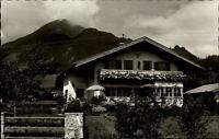 Oberaudorf am Inn Bayern Postkarte 1961 gelaufen Pension Anny Deyerling