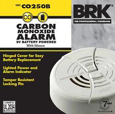 First Alert BRK Carbon Monoxide Detector & Alarm 9V Battery Powered CO250B