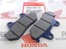 HONDA CB 400 T Front Brake Pad Set GENUINE NEW