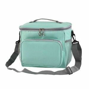 Thermal Insulated Cooler Bag Large Picnic Lunch Bento Box Trips BBQ Camping Hike