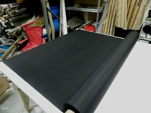 """BLACK 500D CORDURA NYLON FABRIC 60""""W COATED DWR OUTDOOR SOLD BY THE YARD 36""""L"""