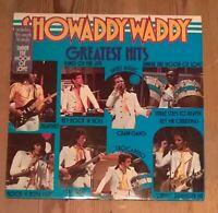 Showaddywaddy – Greatest Hits Vinyl LP Comp  Black Labels 33rpm 1976 Arista 145