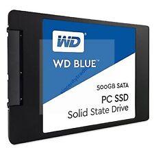 """WESTERN DIGITAL WD BLUE 2.5"""" 7MM SSD545MB/s Read 500GB SOLID STATE DRIVENEW AU"""