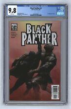 Black Panther #2 2005 1st App Shuri Letitia Wright Black Panther 2 MCU CGC 9.8