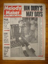 MELODY MAKER 1978 APR 1 IAN DURY MCCARTNEY LOU REED