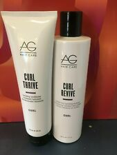 Ag Hair Care Curl Revive  Shampoo & Conditioner