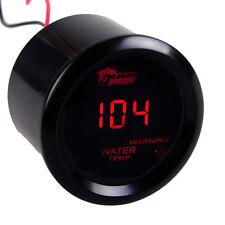 KFZ Digital Wasser Temperatur LED Anzeige Fahrenheit Zusatz Instrument Gauge