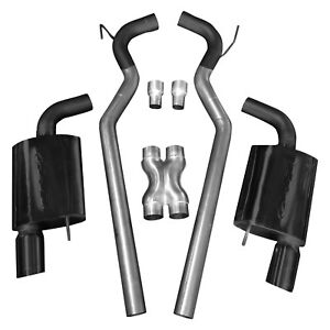 For Ford Mustang 15-17 Exhaust System Aluminized Steel Cat-Back Exhaust System w