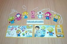 PORORO THE LITTLE PENGUIN COMPLETE SET WITH ALL PAPERS KINDER SURPRISE 2017