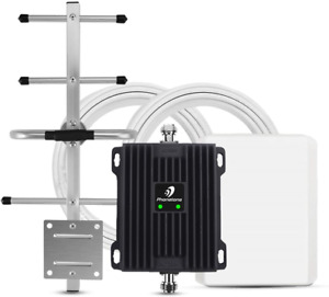 Phonetone Cell Phone Signal Booster for Home and Office Up to 5,000 Sq Ft | 4G |