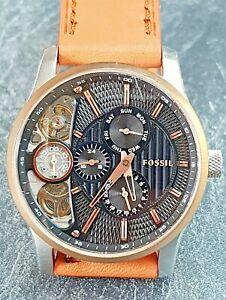 Montre FOSSIL Twist automatique/quartz Squelette Homme réf ME1099