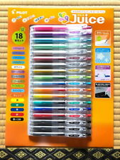 Pilot Juice Gel Ink Ballpoint Pen Fine point 0.5 mm 16 Assorted Color 18 Pack JP