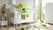Etagenbett Lupo : Platz hochbett in buche weiß doppelbett etagenbett kinderbett