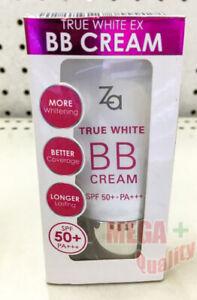 SHISEIDO ZA TRUE WHITE EX BB CREAM 20g SPF50+ PA+++ NEW