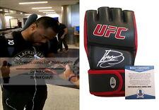 Suga Rashad Evans Signed Autographed UFC Glove MMA Champ Proof Beckett BAS