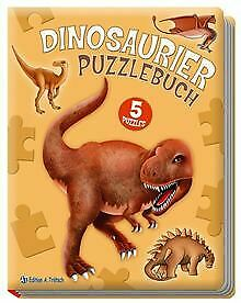 Puzzlebuch Dinosaurier   Buch   Zustand gut