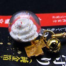 JAPANESE OMAMORI Charm Good luck for fortune Lucky White Snake strap