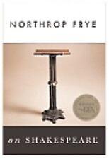 Northrop Frye on Shakespeare by Northrop Frye