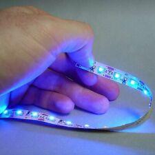 Ultra Thin 12V LED Tape Blue 10 Foot Roll Johnny Law Motors LEDTAP10BL
