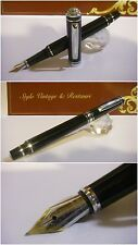 Stilografica Regal British Edward Fountain Pen Blacl Lacquer