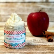 Apple Cinnamon Whipped Body Butter, All Natural, Organic, 4oz size